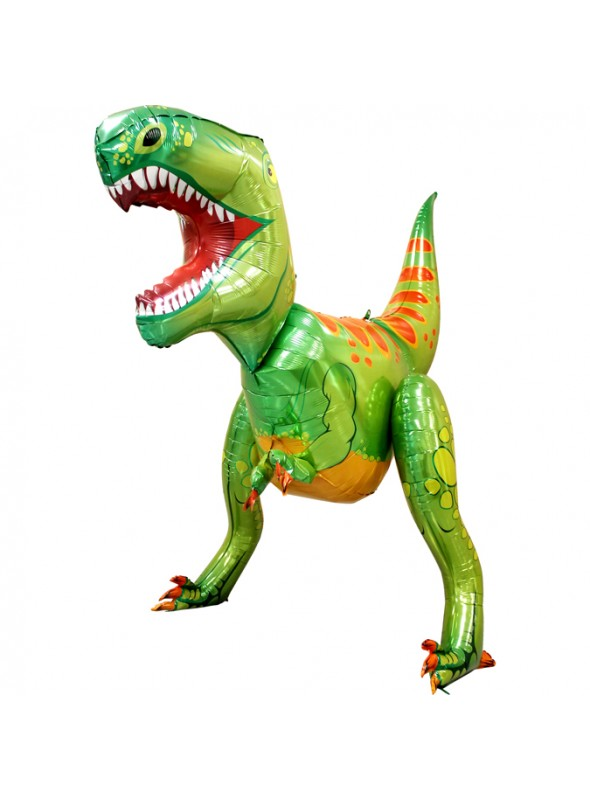 Balão Metalizado Dinossauro 3D – 1 unidade
