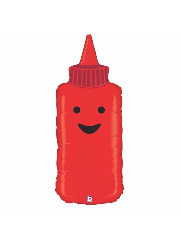 Balão Metalizado Ketchup – 1 unidade