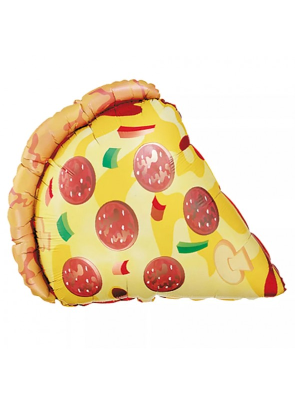 Balão Metalizado Pedaço de Pizza – 1 unidade