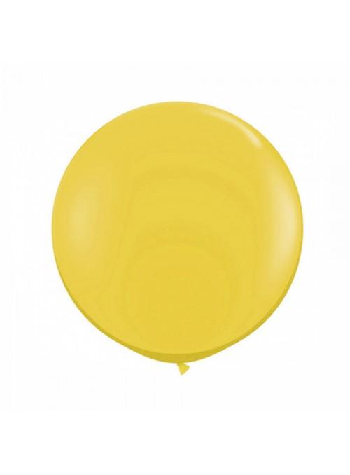 Balão de Látex Gigante Dourado – 1 unidade