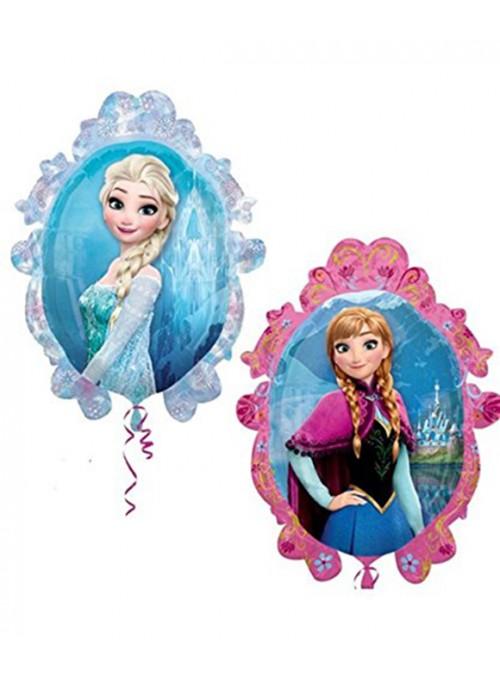 Balão Metalizado Supershape Frozen Espelhado – 1 unidade