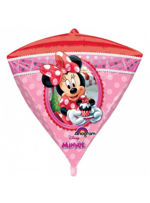 Balão Metalizado Minnie Diamondz – 1 unidade