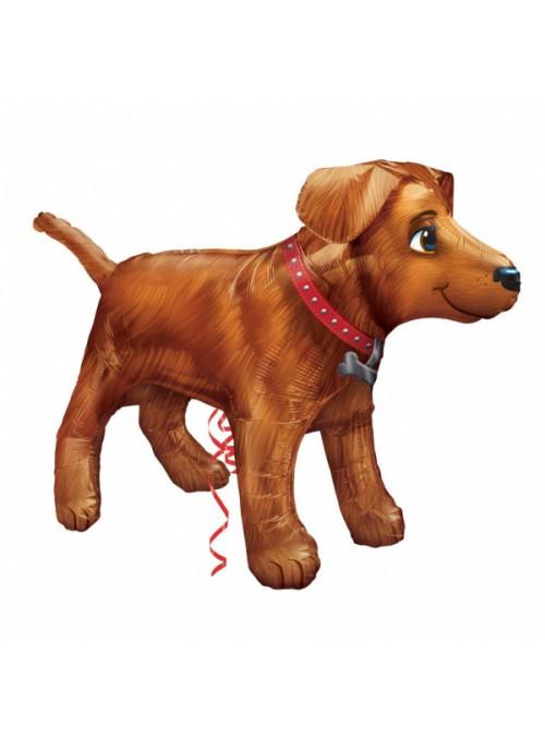 Balão Metalizado Cachorro UltraShape – 1 unidade