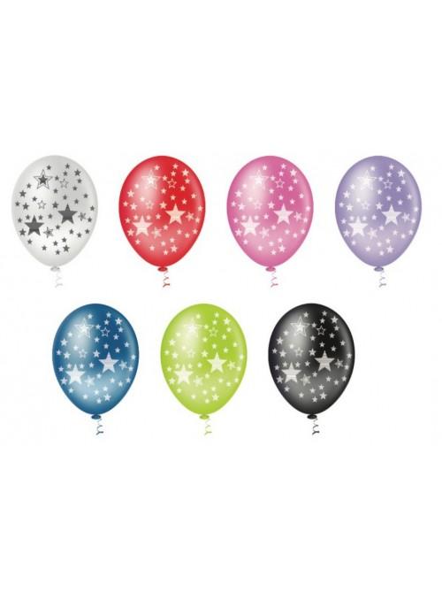 Balões De Látex Estrelas- 25 Unidades