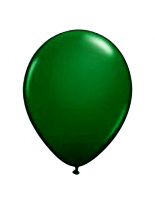 Balões de Látex Verde Musgo - 50 unidades