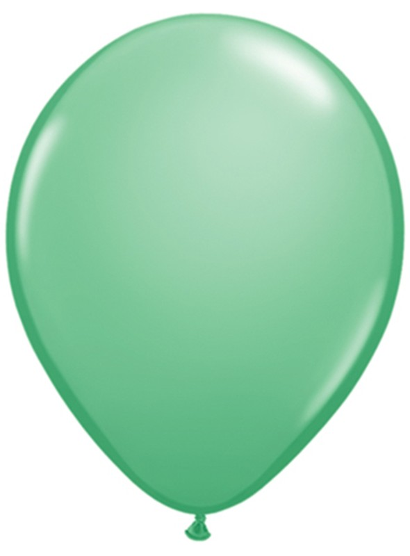Balões de Látex Verde Claro - 50 unidades