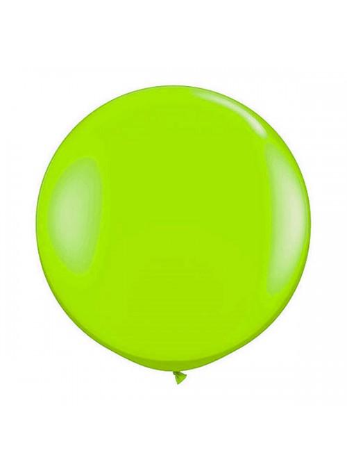 Balão de Látex Gigante Verde Claro 25 Polegadas – 1 unidade