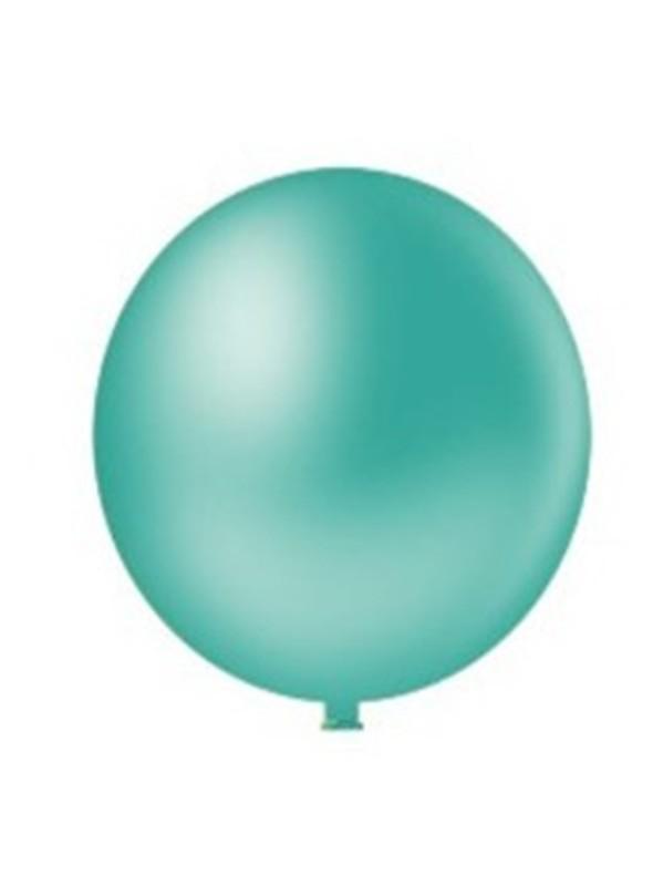 Balão de Látex Gigante Azul Tiffany 25 Polegadas – 1 unidade