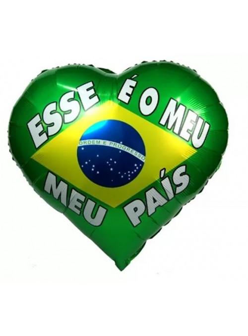 Balão Metalizado Brasil Esse é o meu País – 1 unidade