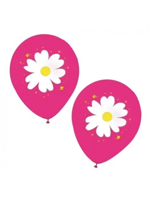 Balões De Látex Margaridas – 25 unidades