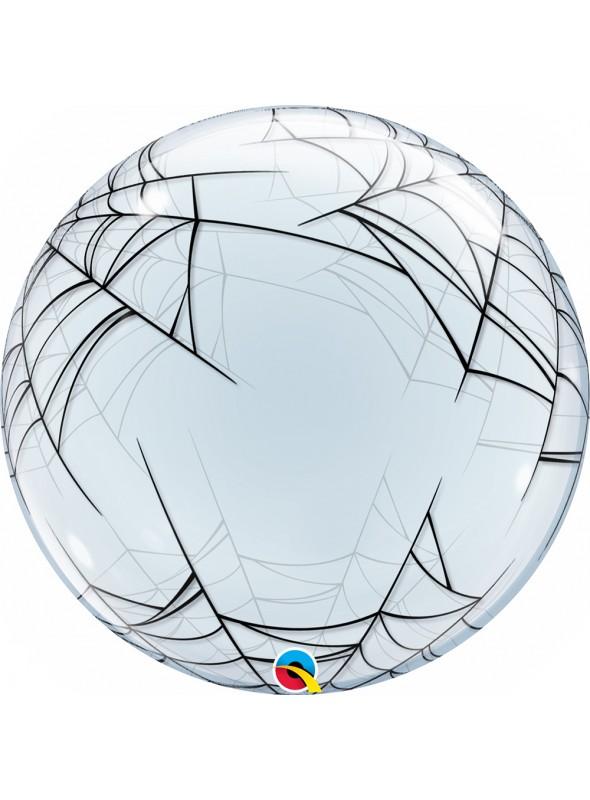 Balão Bubble Bolha Transparente Teias de Aranha – 1 unidade