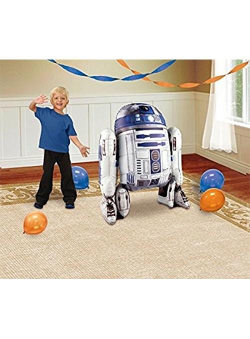 Balão Metalizado Star Wars AirWalker Gigante – 1 unidade