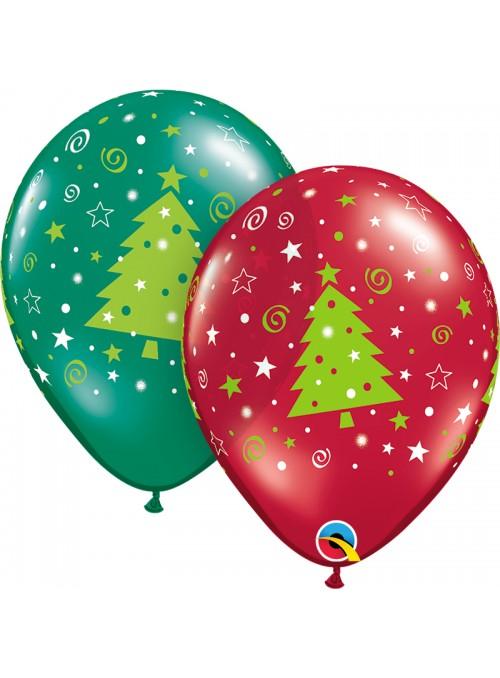 Balões Bexigas de Látex Natal Sortidos 2 - 10 unidades