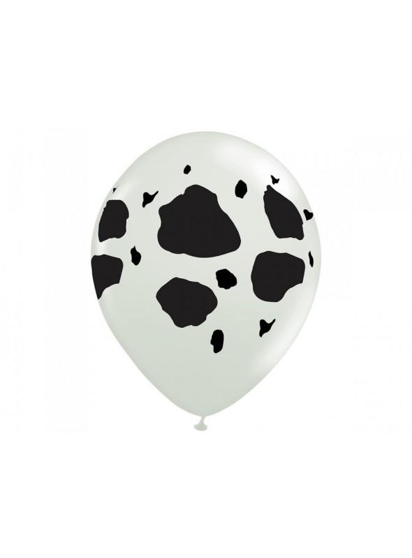 Balões Bexigas De Látex Manchas de Vaca – 25 unidades