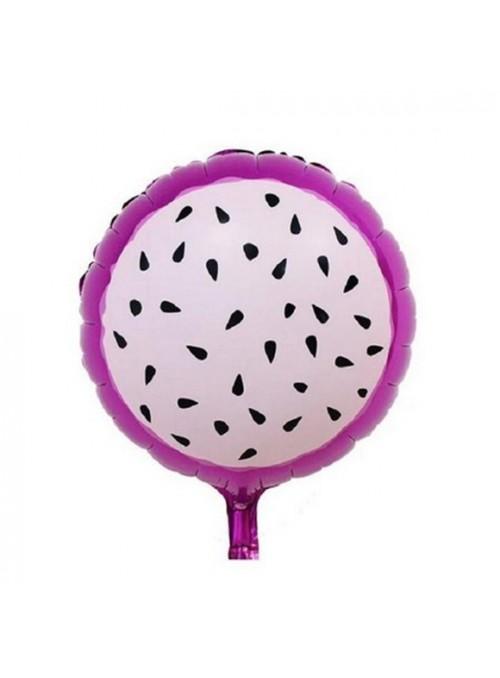 Balões Bexigas Metalizadas Fruta Pitaya – 6 unidades