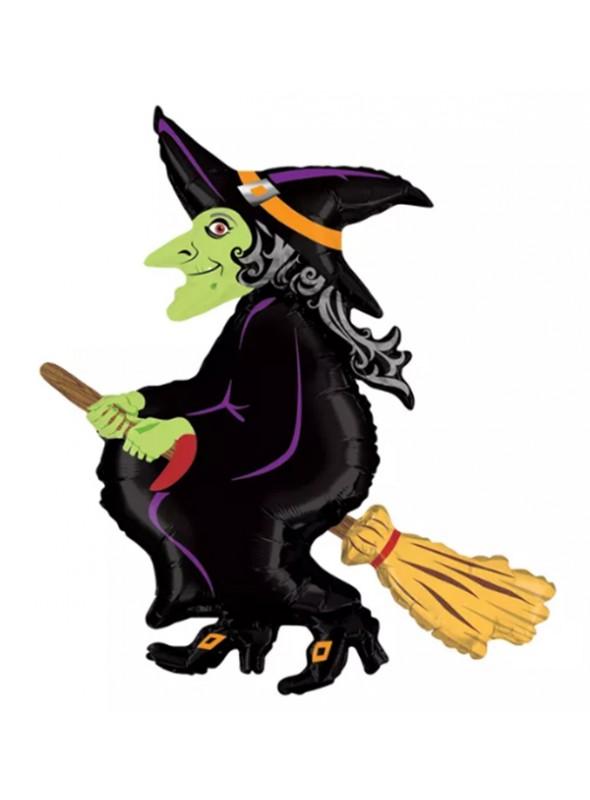 Balao Halloween Bruxa