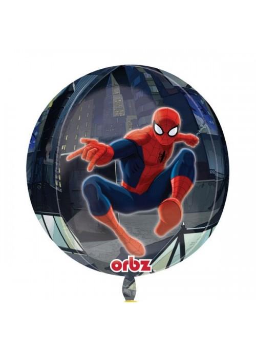 Balão Bexiga Metalizada Orbz Homem Aranha – 1 unidade