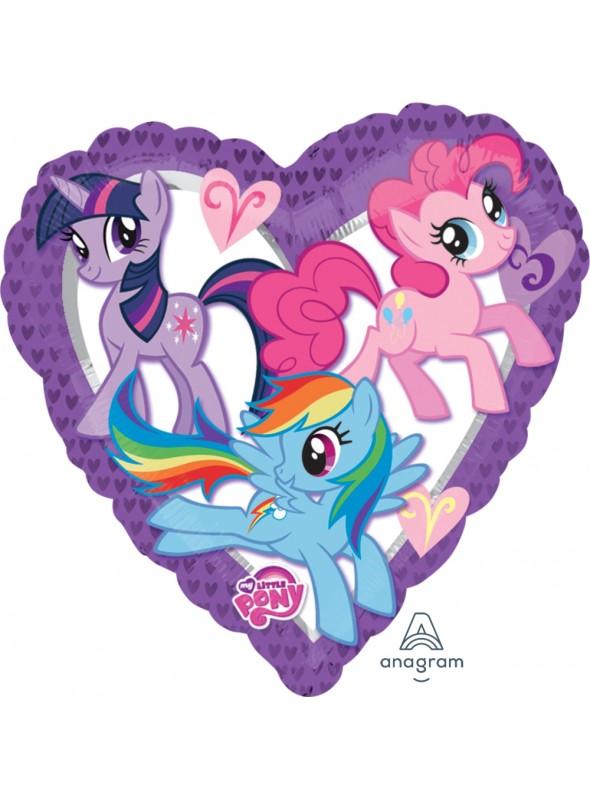 Balão Bexiga Metalizada Pôneis My Little Pony – 1 unidade