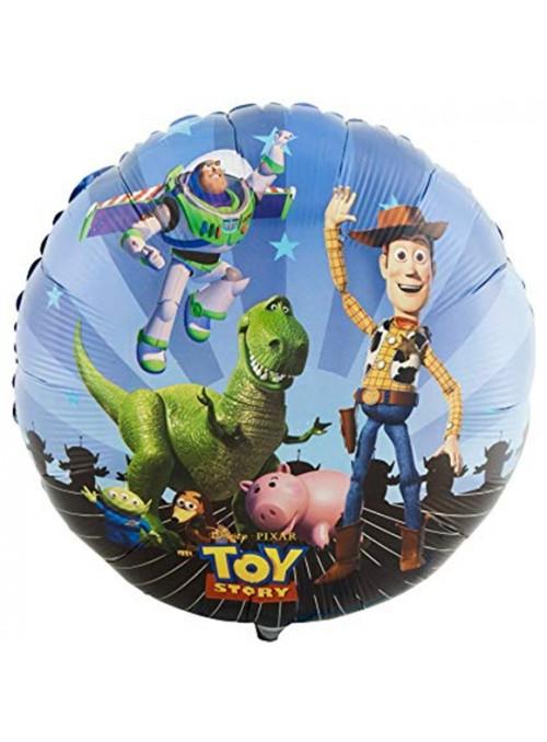 Balão Bexiga Metalizada Toy Story Tamanho P – 1 unidade