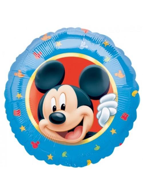 Balão Bexiga Metalizada Mickey Tamanho P – 1 unidade