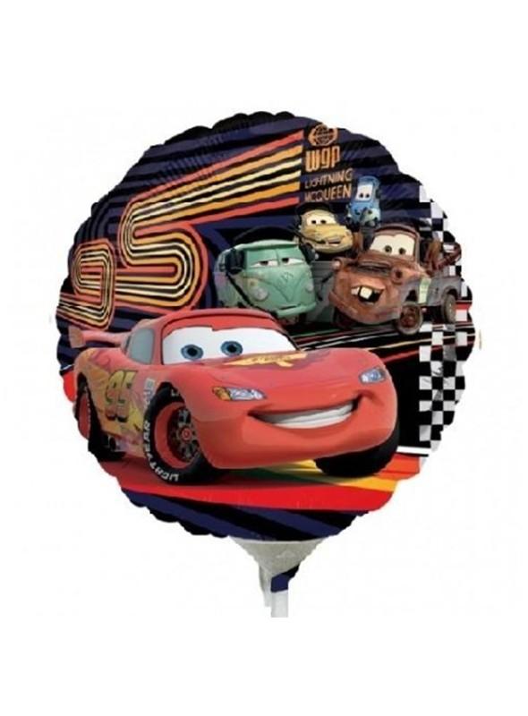 Balão Bexiga Metalizada Carros Tamanho P – 1 unidade