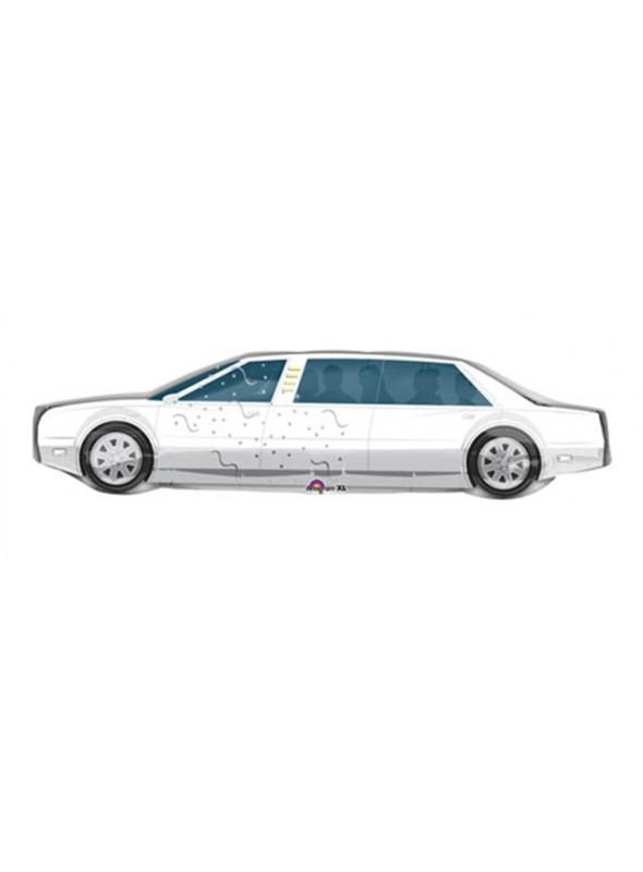 Balão Bexiga Metalizada Carro Limousine – 1 unidade