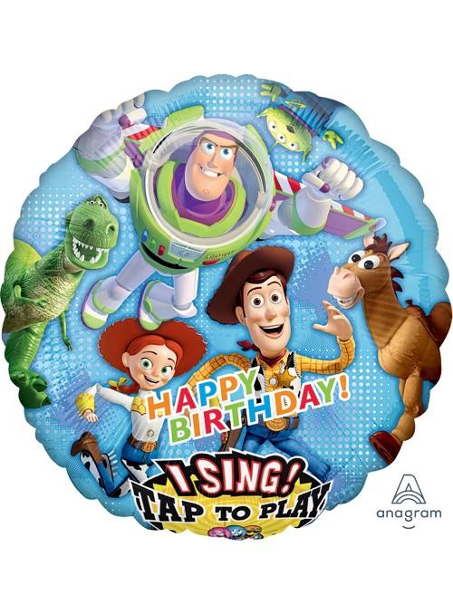 Balão Bexiga Metalizada Musical Toy Story – 1 unidade