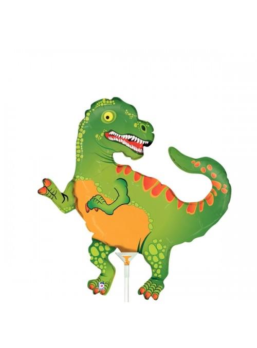 Balão Bexiga Metalizada Dinossauro Tamanho P– 1 unidade