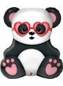 Balão Metalizado Panda Apaixonado – 1 unidade