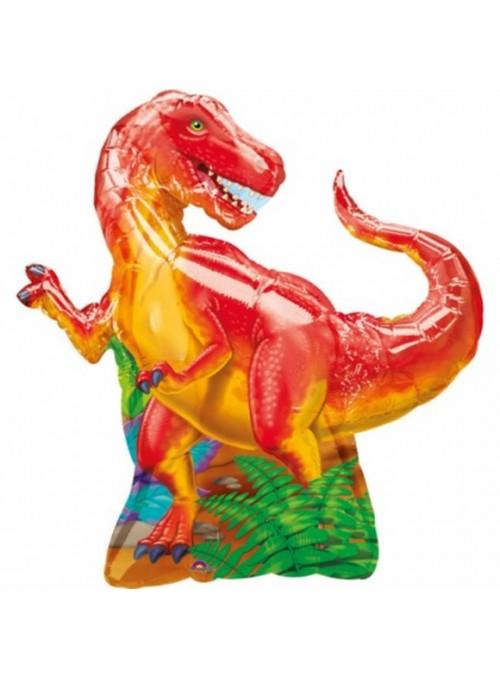 Balão Metalizado Dinossauro Rex – 1 unidade
