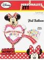Balão Bexiga Metalizada Minnie Personalize Você – 1 unidade