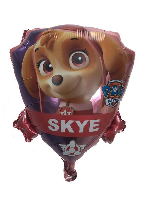 Balão Metalizado Cachorro Skye Patrulha Canina – 1 unidade