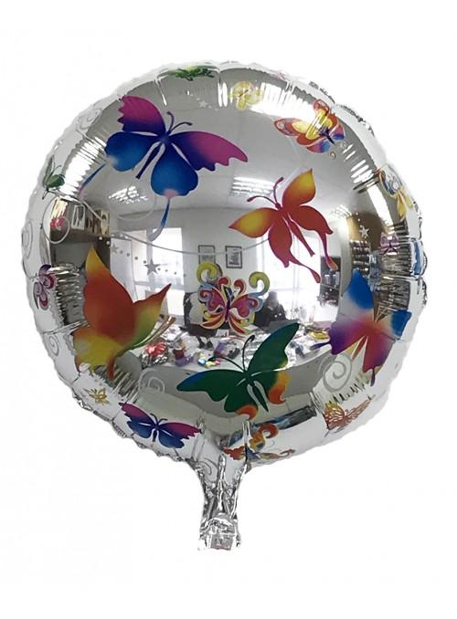 Balão Metalizado Borboletas – 1 unidade
