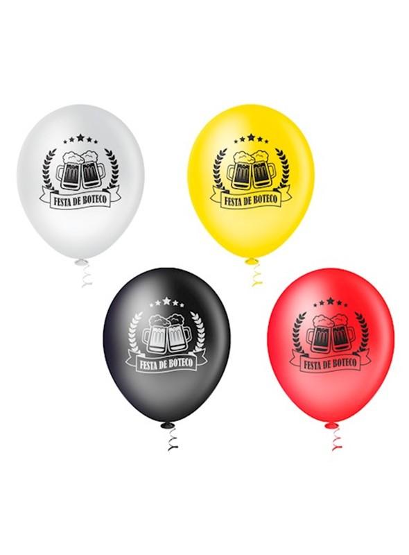 Balões de Látex Boteco – 25 unidades