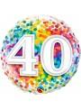 Balão Metalizado Aniversário 40 Anos – 1 unidade