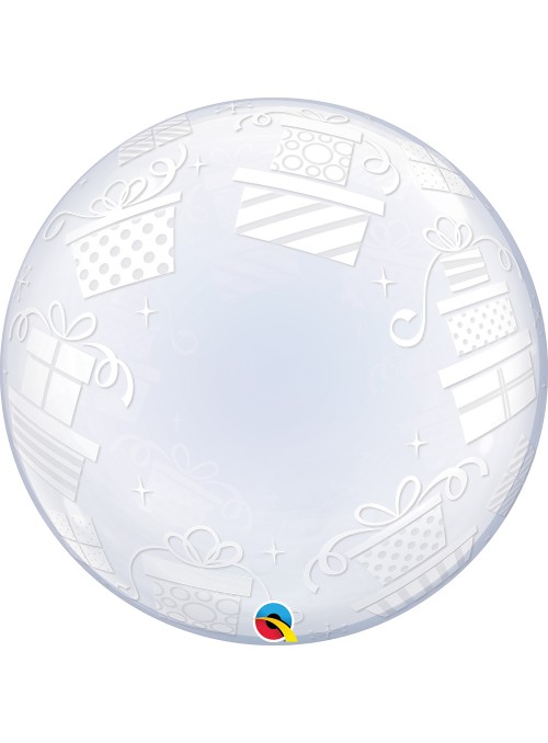 Balão Bubble Transparente Presentes Embrulhados – 1 unidade