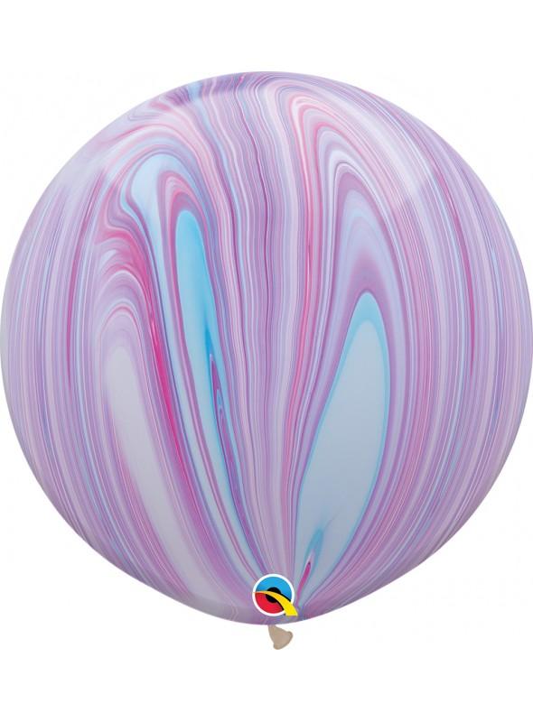 Balão de Látex Gigante Marmorizado Fashion 30 Polegadas – 1 unidade