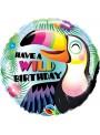 Balão Metalizado Aniversário Tucano – 1 unidade
