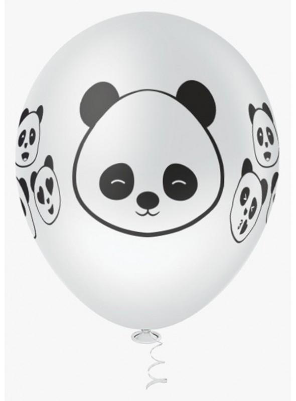 Balões de Látex Panda – 25 unidades