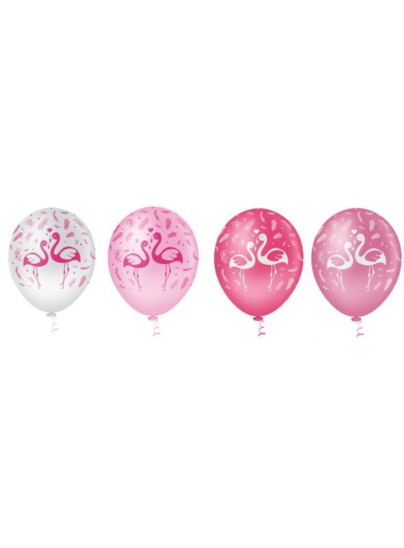 Balões de Látex Flamingos – 25 unidades