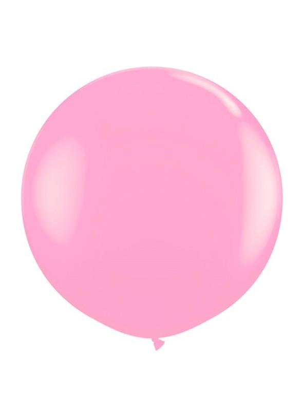 Balão de Látex Gigante Rosa Bebê 25 Polegadas – 1 unidade