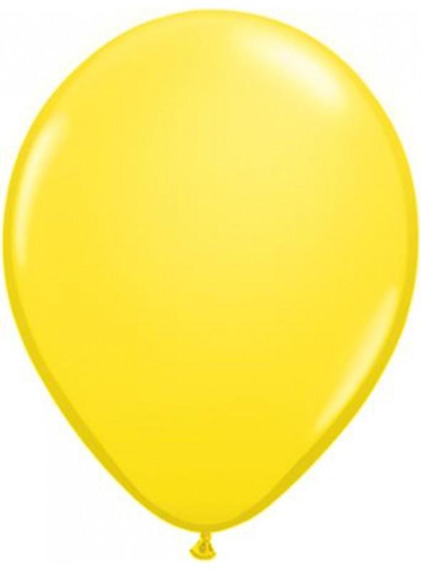 Balões de Látex Amarelo 5 Polegadas – 50 unidades