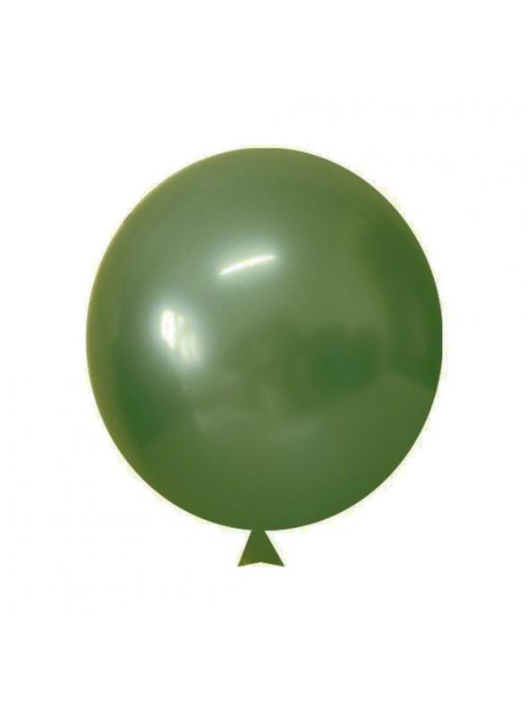 Balões de Látex Translúcido Cristal Verde Esmeralda – 50 unidades
