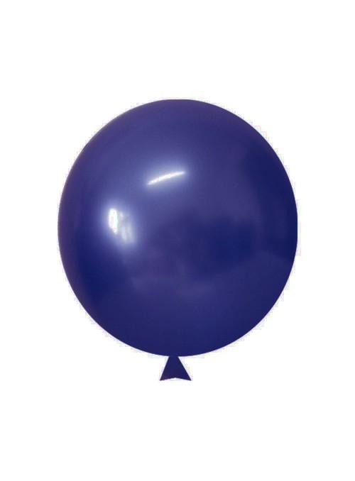 Balões de Látex Translúcido Cristal Azul Jade – 50 unidades