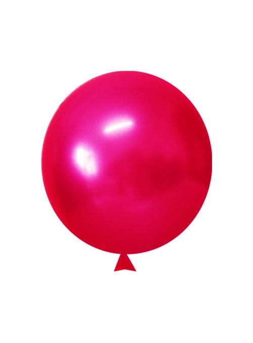 Balões de Látex Translúcido Cristal Rosa – 50 unidades