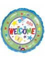 Balão Metalizado Welcome Bem Vindo – 1 unidade