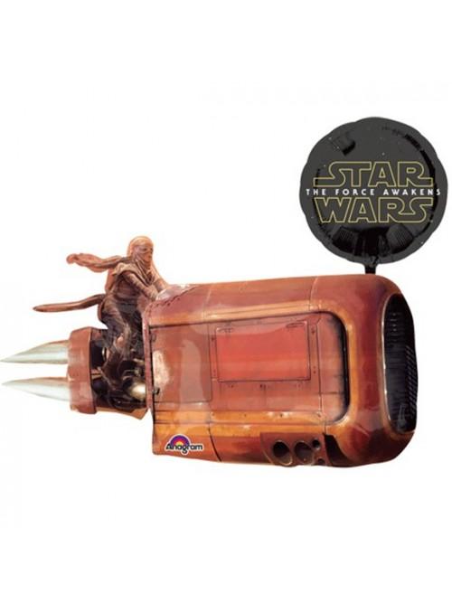 Balão Metalizado Nave Star Wars – 1 unidade