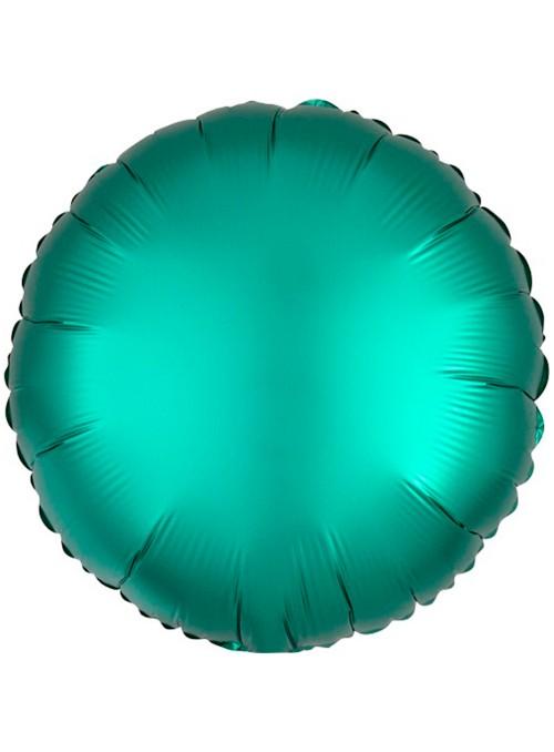Balão Metalizado Cromado Redondo Chrome Verde – 1 unidade