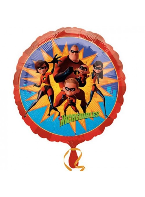 Balão Metalizado Os Incríveis Tamanho P – 1 unidade