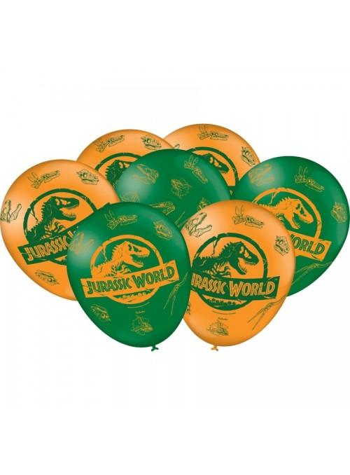 Balões de Látex Dinossauro Jurassic World – 25 unidades
